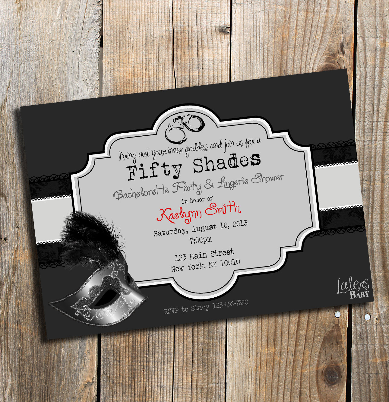 The Invites | 20 Ideas to Give Your Bachelorette Party ...
