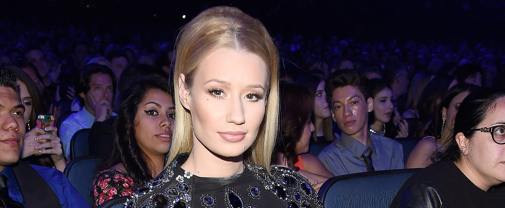 Did Monica Potter and Iggy Azalea Throw Mutual Shade at the People's Choice Awards?
