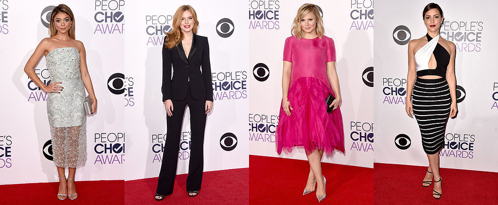 POPSUGAR Shout Out: Pure Glamour at the People's Choice Awards