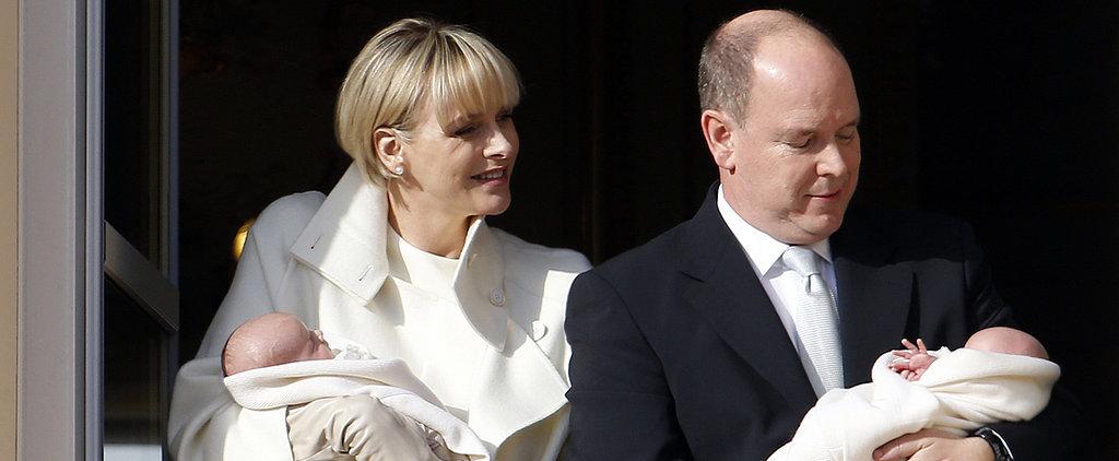 Double Cute! Monaco's Royal Baby Twins Make an Appearance