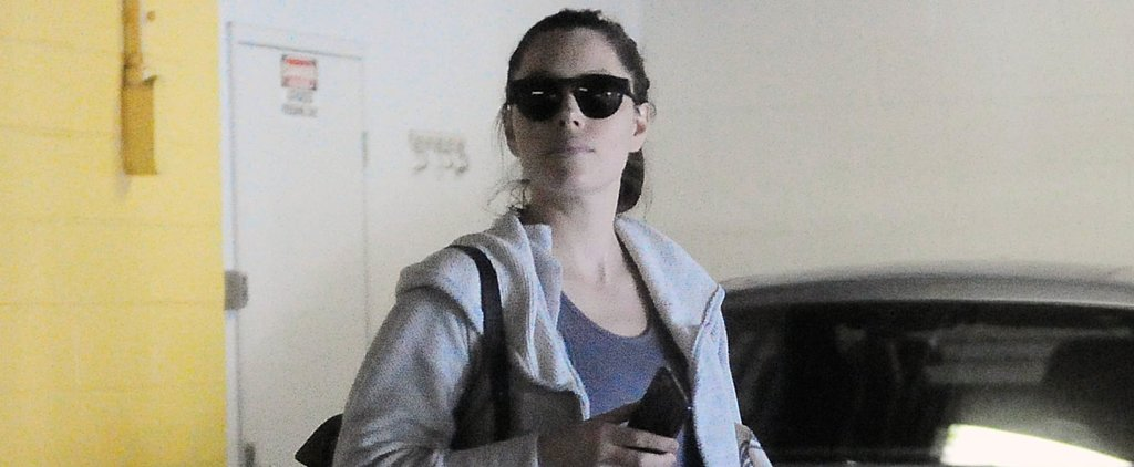 Jessica Biel and Her Baby Bump Get Back to Business in LA