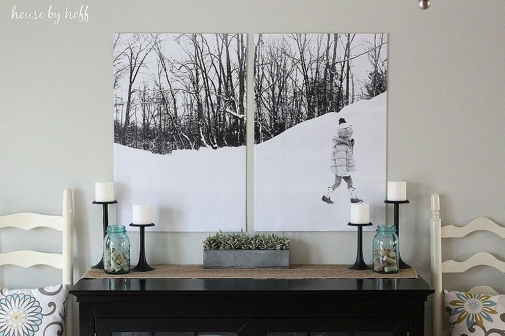 How To Turn Photos Into Wall Art Popsugar Home