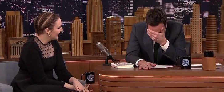 Lena Dunham Cracks Up Jimmy Fallon With a One-Liner
