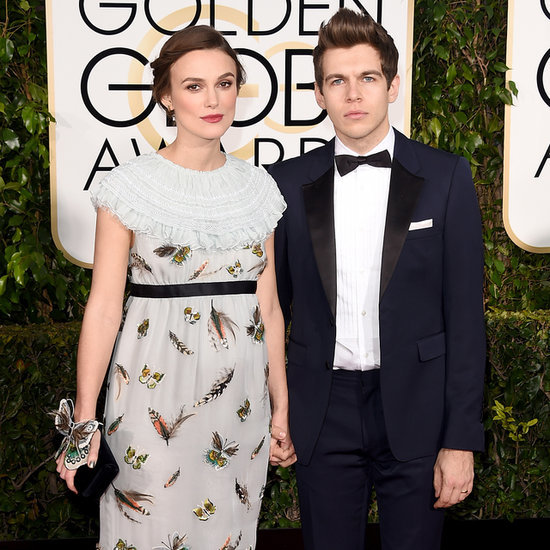 Pregnant Keira Knightley's Baby Bump at 2015 Golden Globes