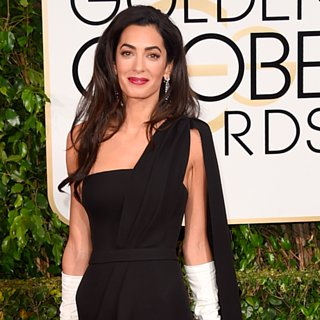 Poll: Amal Alamuddin Channels Old Hollywood at the Golden Globes