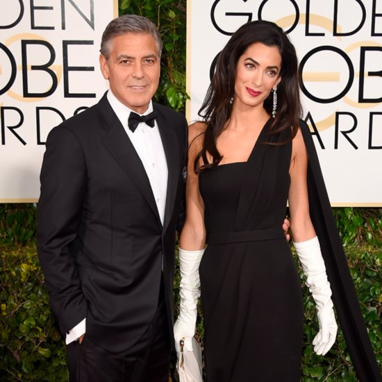 George Clooney and Amal Alamuddin at 2015 Golden Globes