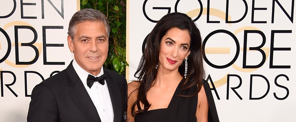 George Clooney and Amal Alamuddin Take the Golden Globes Red Carpet by Storm