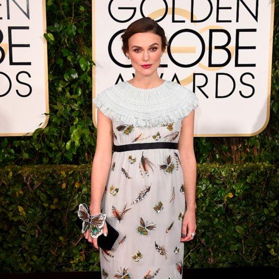 Keira Knightley at the Golden Globe Awards 2015