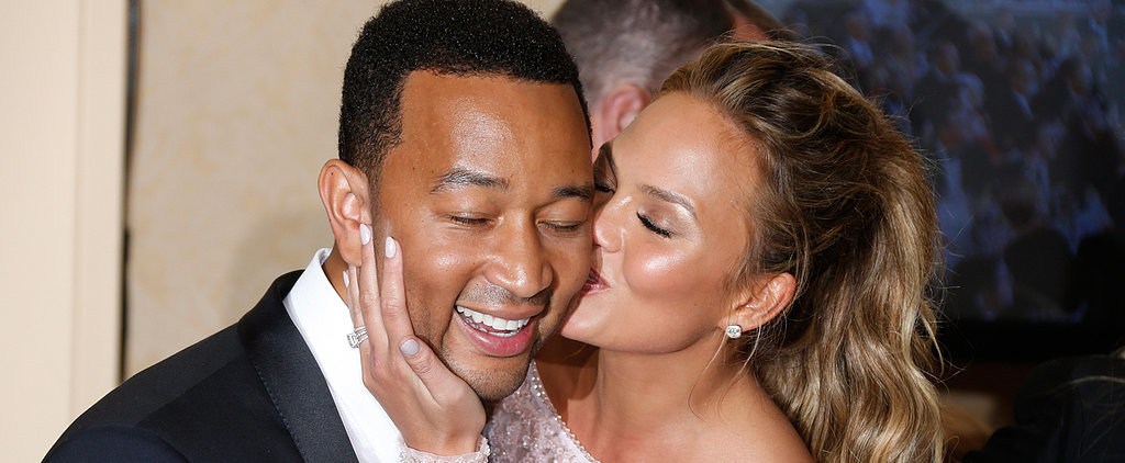 Chrissy Teigen's Cry Face at the Golden Globes Has Officially Gone Viral