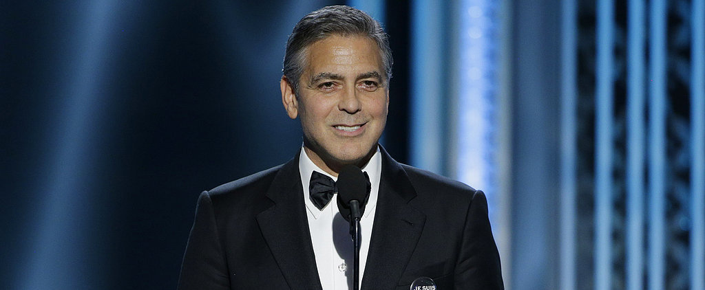 George Clooney Gushes About Amal on the Golden Globes Stage