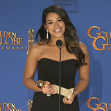 Gina Rodriguez's Golden Globes Press Room Interview