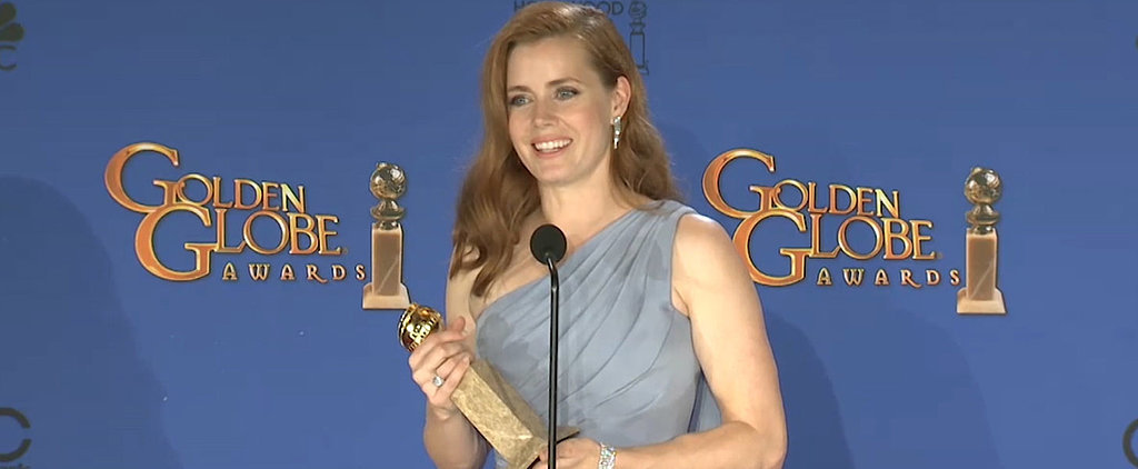 "Amy Adams's Advice to Young Girls: ""Get Off the Internet!"""