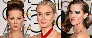 All the Golden Hair and Makeup Looks From the Red Carpet