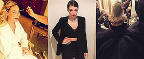 Stylish Snaps From Our Fave Celebs at the Golden Globes