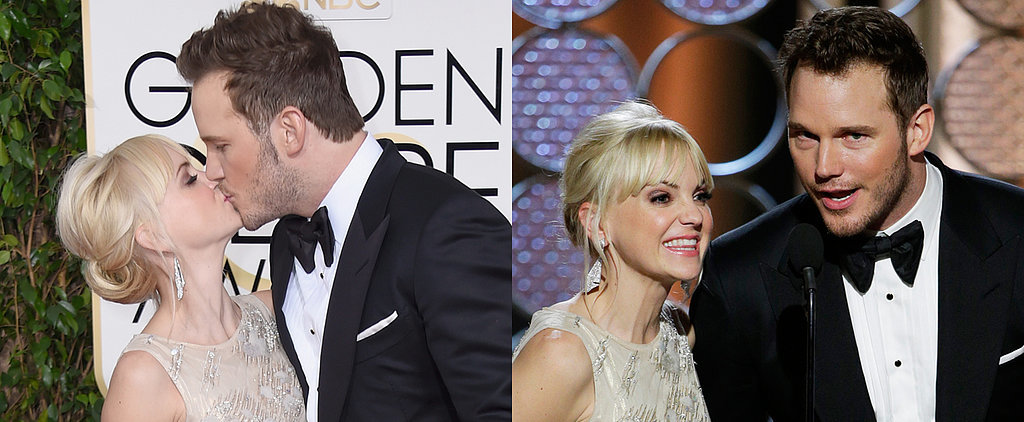 Chris Pratt and Anna Faris Really Couldn't Have Been Cuter at the Globes