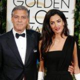 Amal Alamuddin Unimpressed at the Golden Globes 2015
