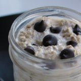 Healthy Cookie Dough Breakfast Oats Recipe