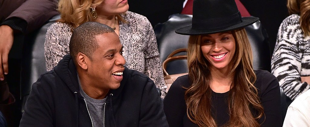 Beyoncé and Jay Z Get the Courtside Giggles as Pregnancy Rumors Swirl