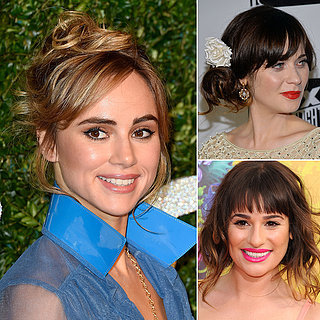 How to Wear Hair Up With a Fringe