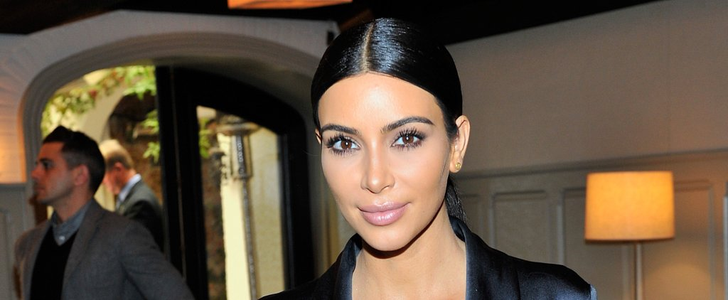 Kim Kardashian Shares Her First Makeup-Free Selfie of 2015