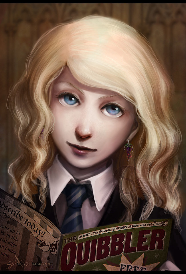 Luna Lovegood and the Quibbler | Harry Potter Characters