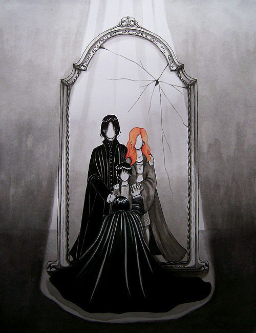 Snape S Mirror Of Erised Harry Potter Characters Are