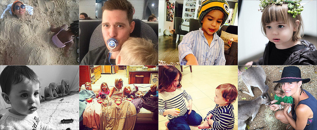 Tiffani, Molly, Beyoncé, and More Shared the Sweetest Snaps of Their Tots This Week!