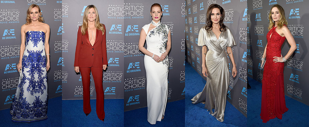 POPSUGAR Shout Out: Fall For the Most Glam Looks at the Critics' Choice Awards