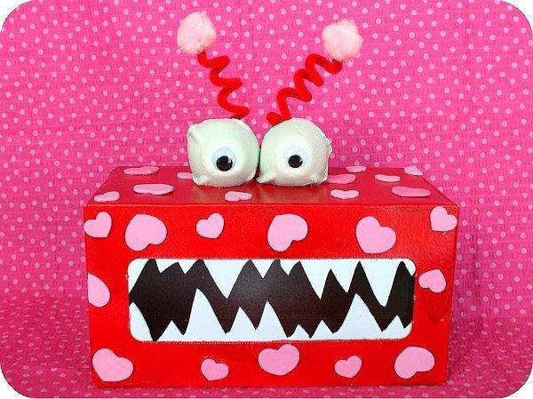 Valentine's Monster Boxes