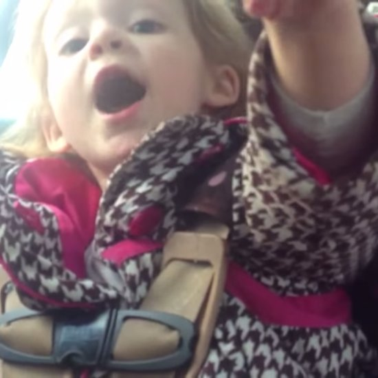 Little Girl Doesn't Want Help Buckling Her Car Seat