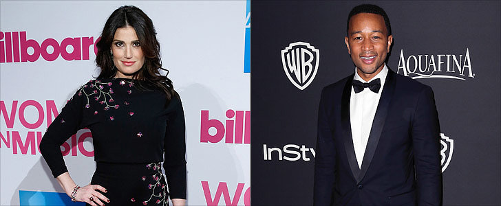 Big News! Idina Menzel and John Legend Will Sing at the Super Bowl