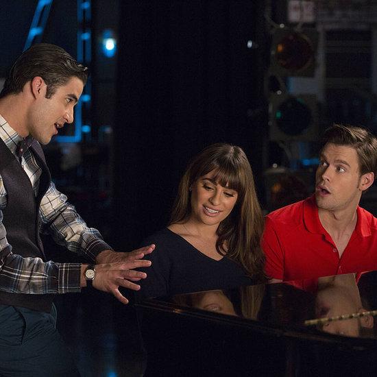 "Glee Rachel & Sam Sing ""A Thousand Miles"" by Vanessa Carlton"