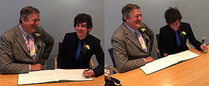 British Actor Stephen Fry Is Married!