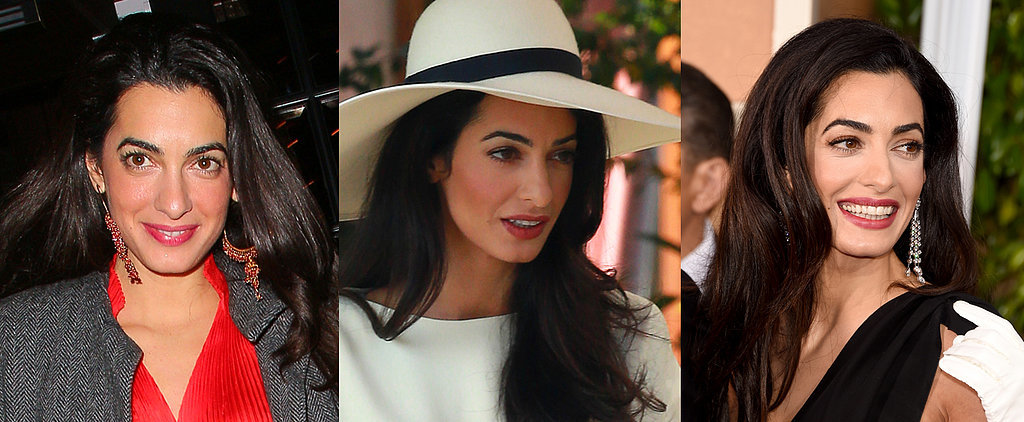 Amal Alamuddin Is Taking Her Beauty Cues From Kate Middleton