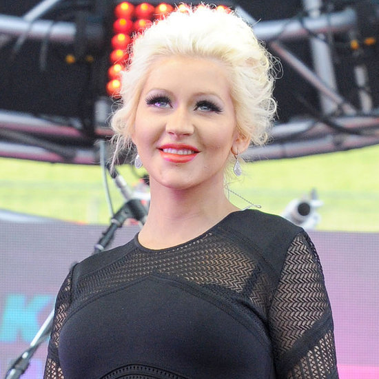 Christina Aguilera Shares the First Picture of Summer Rain