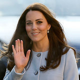 Kate Middleton's Baby Bump Looks Good in a Coatdress