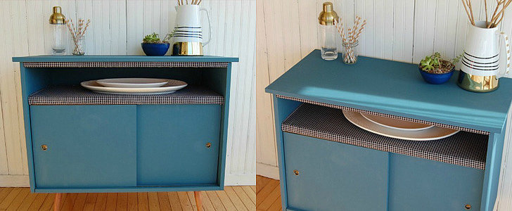 A Worn Buffet Gets a Much-Needed DIY Makeover