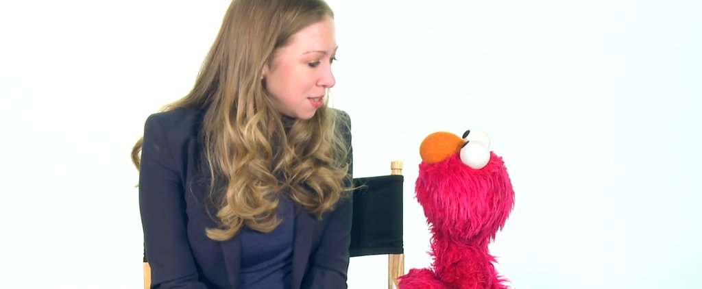 Chelsea Clinton Tells Elmo All About Her Adorable Baby Girl
