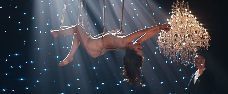 Whoa! Dakota Johnson Is All Tied Up in This Fifty Shades of Grey Music Video