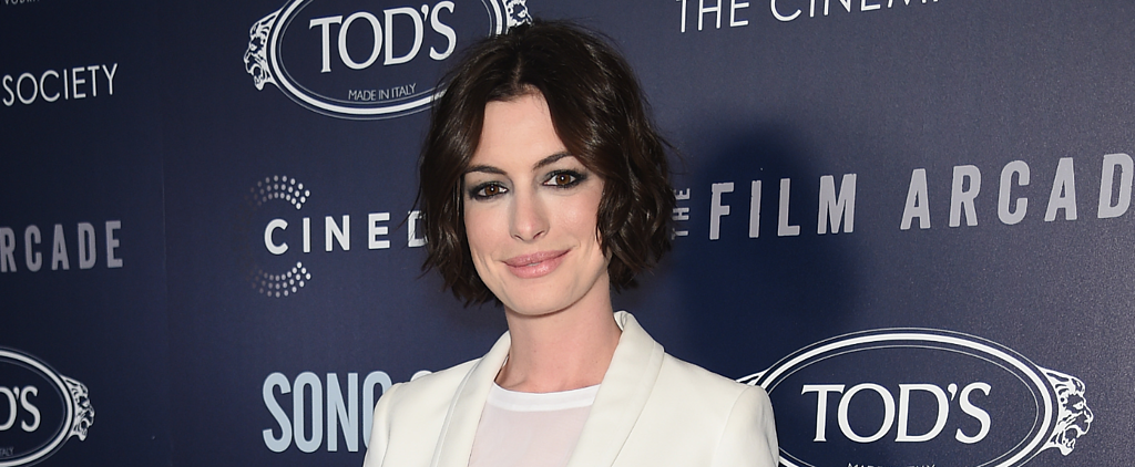 Anne Hathaway's Look Is Our New Snooze Button Beauty Routine