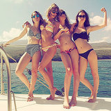 Taylor Swift Shares a Bikini Picture January 2015