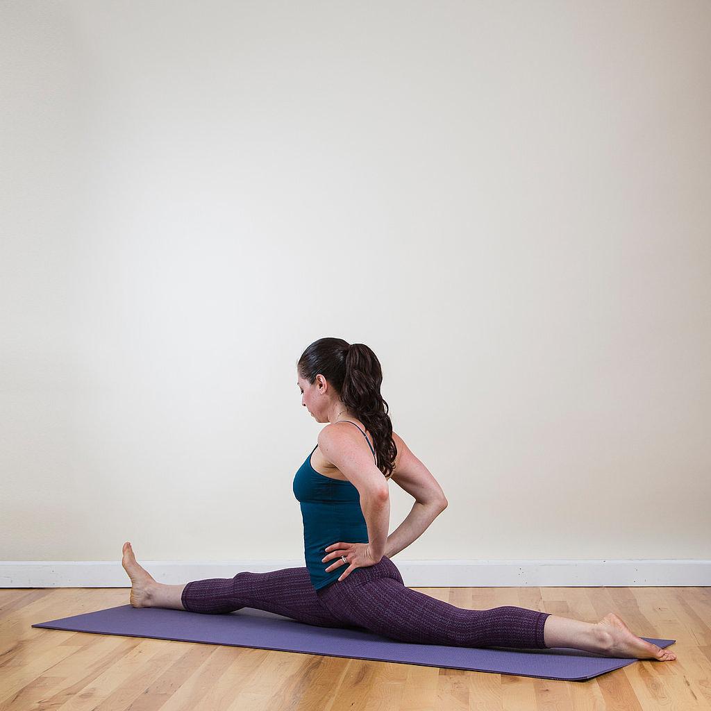 Yoga Pose Of The Week Split Popsugar Fitness