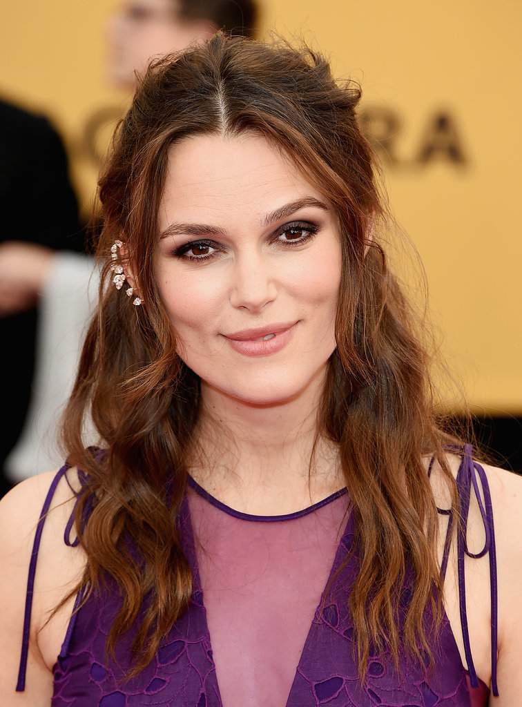 Keira Knightley Hair and Makeup at the SAG Awards 2015 | POPSUGAR ...