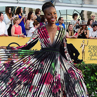 Celebrities on the SAG Awards Red Carpet 2015