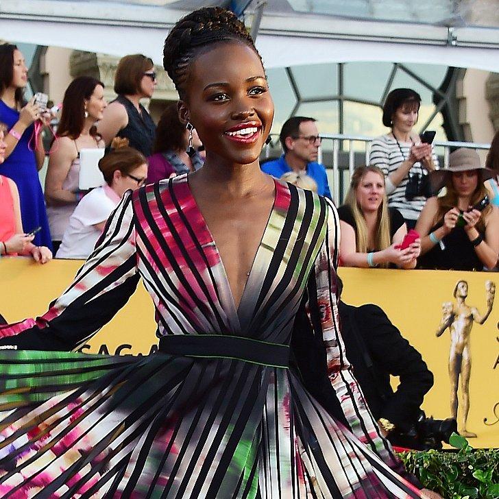 Lupita Nyongo Dress at SAG Awards 2015