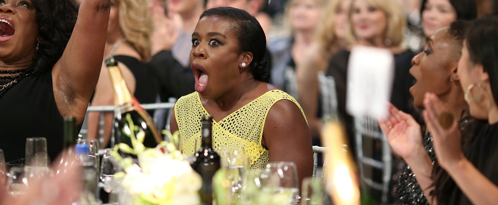 Uzo Aduba's Tear-Filled Speech Is the Highlight of the SAG Awards