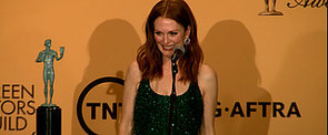 "Julianne Moore's Son Told Her to ""Blow Off the Mani Cam"""