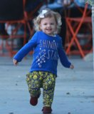 Busy Philipps Gets Breakfast With Her Husband & Two Daughters