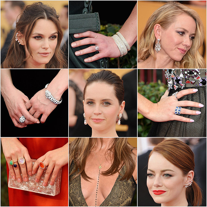 SAG Awards Jewelry 2015