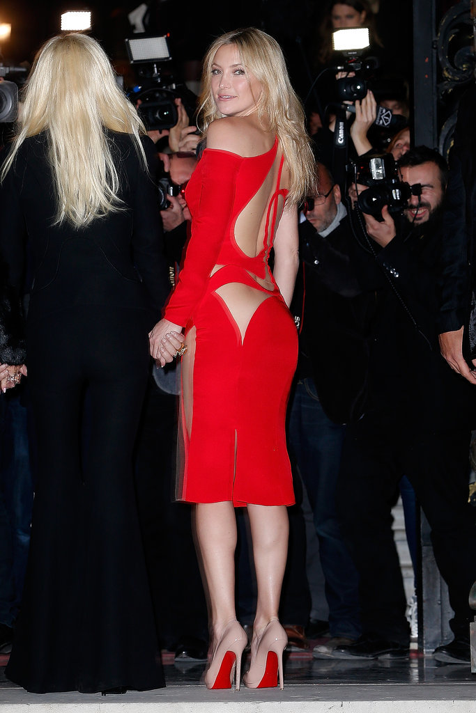 Kate Hudson 39 S Sexy Versace Dress Popsugar Fashion